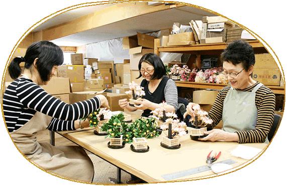 小道具を作る職人たち
